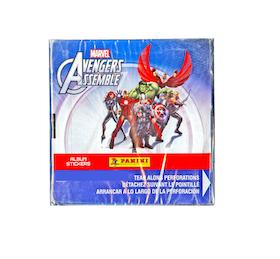 2013 Panini Marvel Avengers Assemble (Sticker Box)