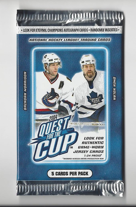 2003-04 Pacific Quest for the Cup (Paket)