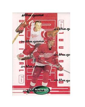 2003-04 Parkhurst Original 6 (Detroit Red Wings Hobby Pack)