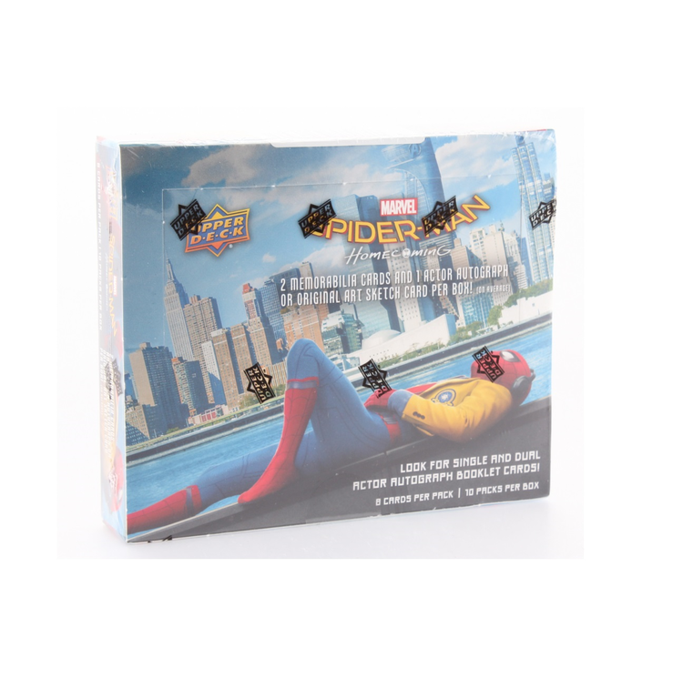 Marvel Spider-Man Homecoming Hobby Box (Upper Deck 2017)