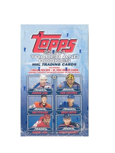 2003-04 Topps Traded & Rookies