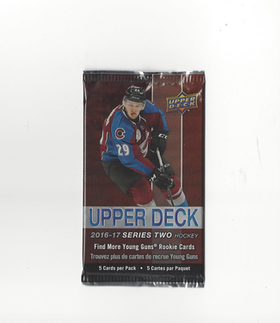 2016-17 Upper Deck Series Two (Retail Pack)