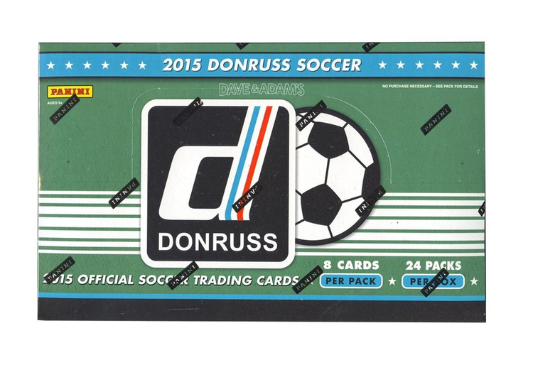 2015 Panini Donruss Soccer