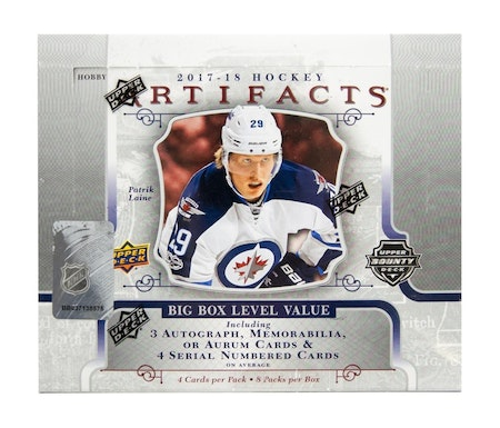 2017-18 Artifacts (Hobby Box)
