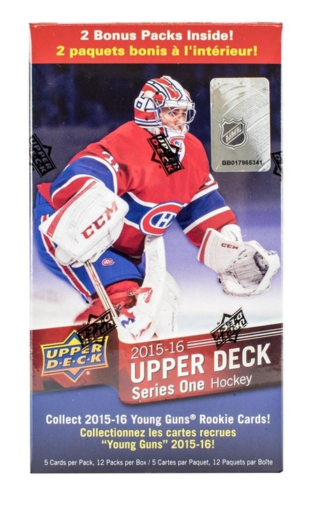 2015-16 Upper Deck Series 1 (Blaster)