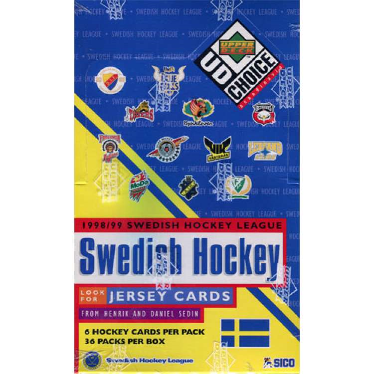 1998-99 Upper Deck Swedish Elite (Hel Box)