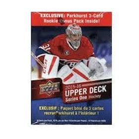 2015-16 Upper Deck Series 1 (Löspack från Mega Box)