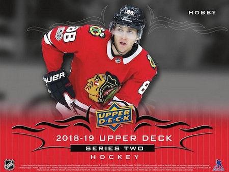 2018-19 Upper Deck Series 2 (Hobby Box) *PRELIMINÄR RELEASE 13/2-2019*