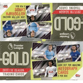 2017-18 Topps Premier League Gold