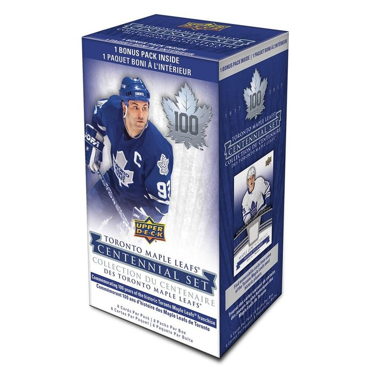 2017-18 Upper Deck Toronto Maple Leafs Centennial (8-Pack Box)