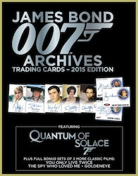 James Bond Archives Trading Cards Box (Rittenhouse 2015)
