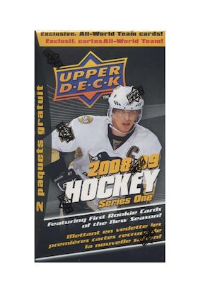 2008-09 Upper Deck (Series 1) (Retail Pack)