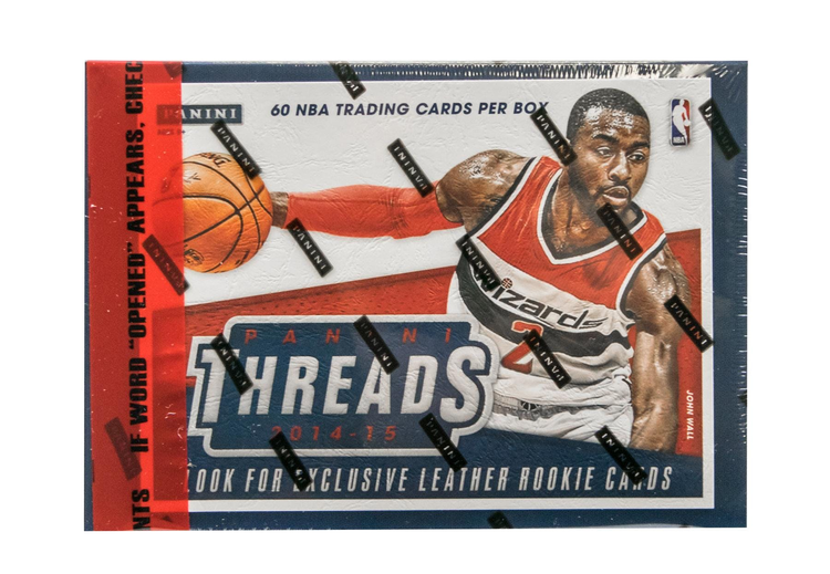 2014-15 Panini Threads (Basketball Premium Hobby Box)