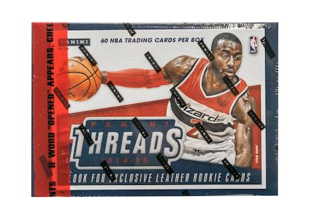 2014-15 Panini Threads (Basketball Premium Hobby Box)