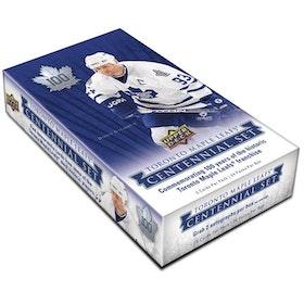 2017-18 Upper Deck Toronto Maple Leafs Centennial (Hobby Box)