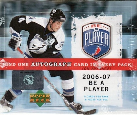 2006-07 Be A Player Signature (Hobby Box)