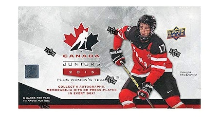 2015-16 Upper Deck Team Canada Juniors