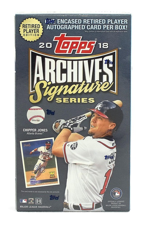 2018 Topps Archives Signature Series (Retired Baseball Player Edition)