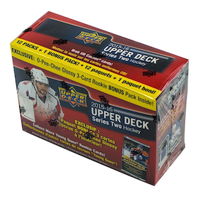 2015-16 Upper Deck Series 2 (Löspack från Mega Box)