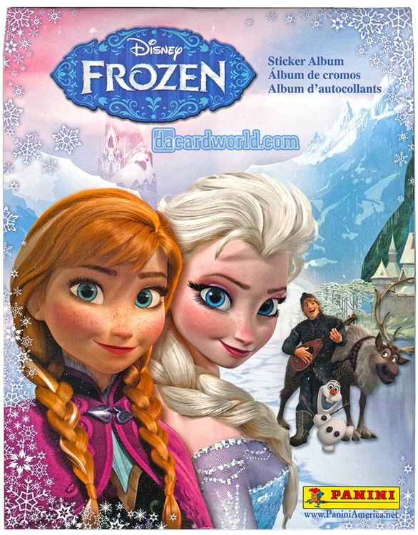 Panini Frozen sticker album