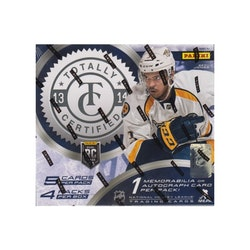 2013-14 Totally Certified (Hobby Box)