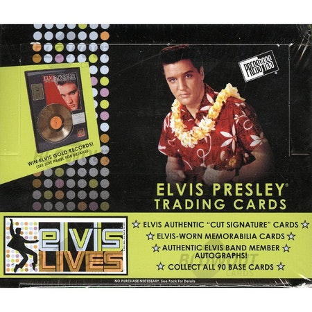2006 Press Pass Elvis Lives (Retail Box)