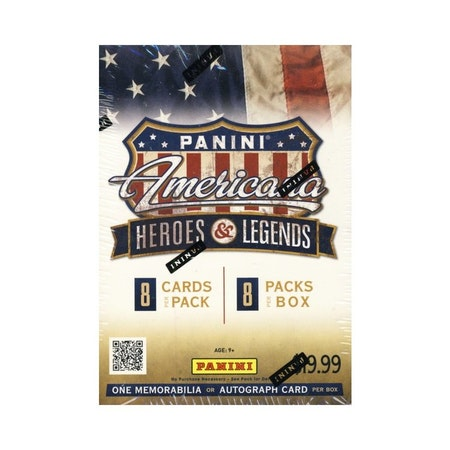 2012 Panini Americana Heroes & Legends (Blaster)