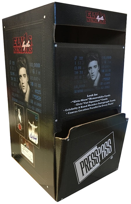 2008 Press Pass Elvis By The Numbers (Gravity Feed Box)
