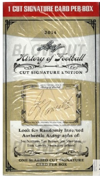 2014 Leaf History of Football (Cut Signature Edition Box)