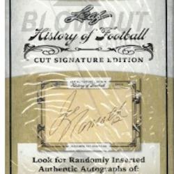 2014 Leaf History of Football (Cut Signature Edition Box)