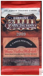 2009 Donruss Americana (Retail Pack)