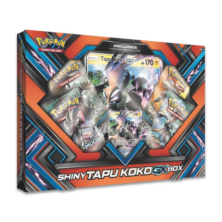 Pokemon Shiny Tapu Koko GX Box