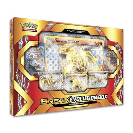 Pokemon Break Evolution Featuring Arcanine Box