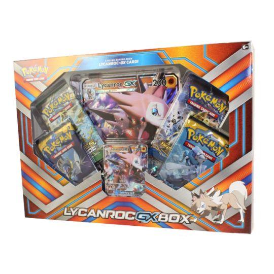 Pokémon Lycanroc GX Box