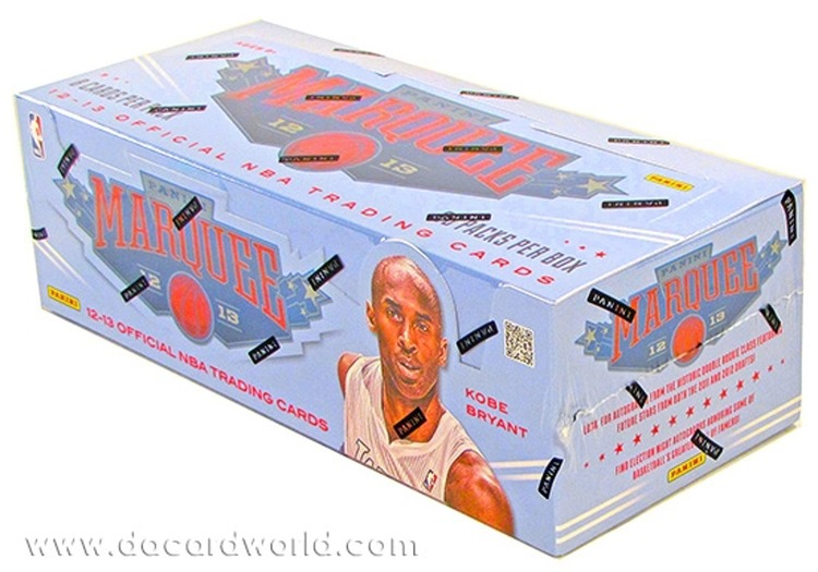 2012-13 Panini Marquee Basketball (Hobby Box)