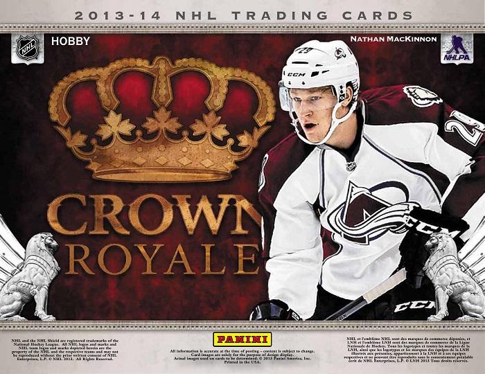 2013-14 Crown Royale (Hobby Box)