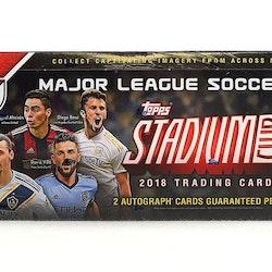 2018 Topps Stadium Club MLS Soccer (Hobby Box)