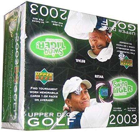 2003 Upper Deck Golf (Retail Box)