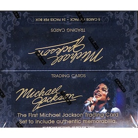Panini Michael Jackson 2nd Wave (Trading Cards Box)