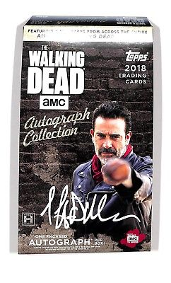 2018 Topps The Walking Dead Autograph Collection (Hobby Box)