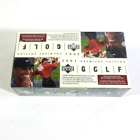 2001 Upper Deck Golf (Rack Pack Box)