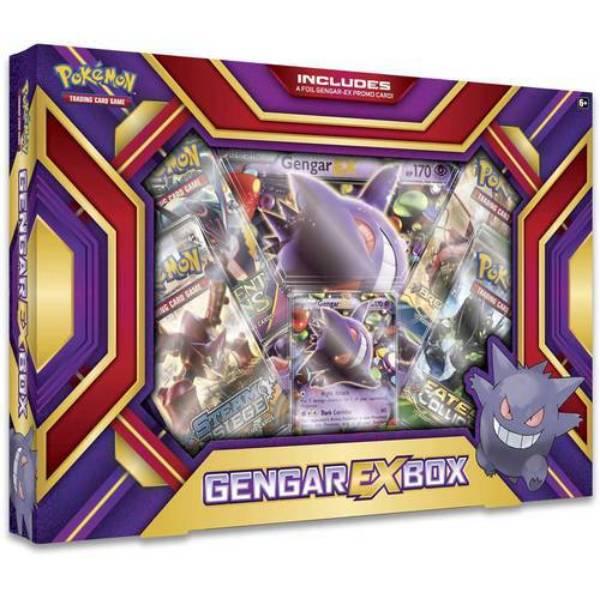 Pokemon Gengar EX Box