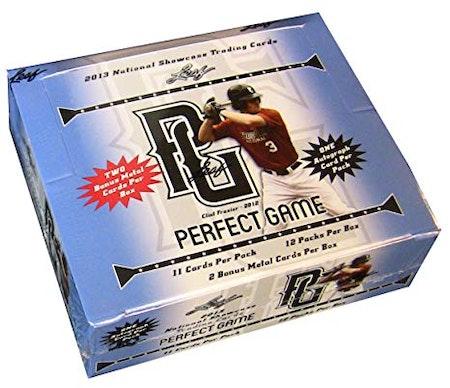 2013 Leaf Perfect Game Showcase Baseball