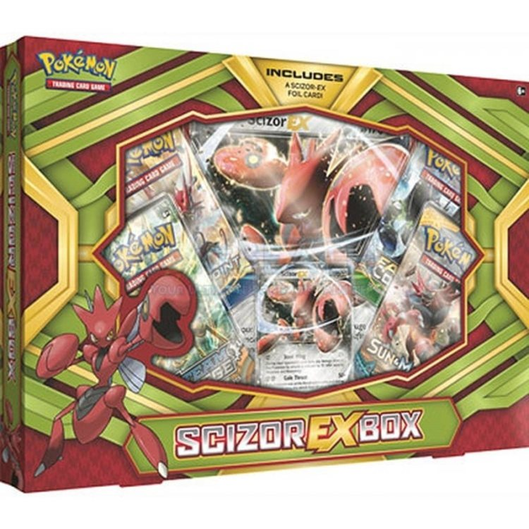 Pokemon Scizor EX Box