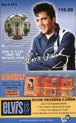 2007 Press Pass Elvis Is (Blaster)