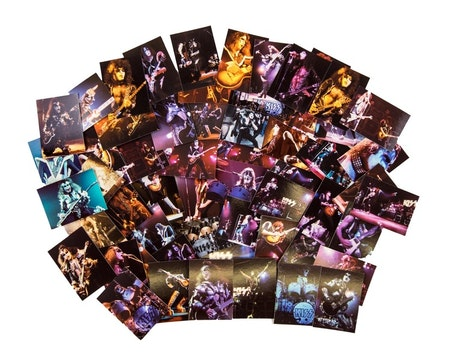 Kiss Alive! Collector Cards Factory 72-Card Set (NECA)