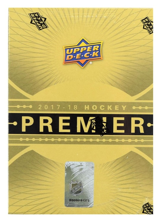 2017-18 Upper Deck Premier (Hobby Box)