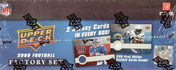 2008 Upper Deck 1st Edition Football Factory Set (Box)