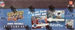 2008 Upper Deck 1st Edition Football Factory Set (Box)