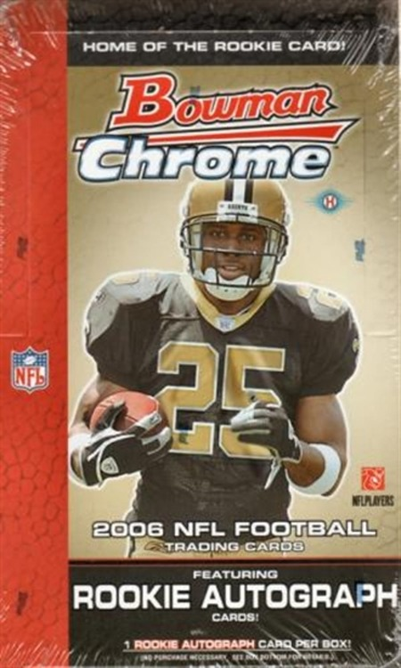 2006 Bowman Chrome Football (Hobby Box)